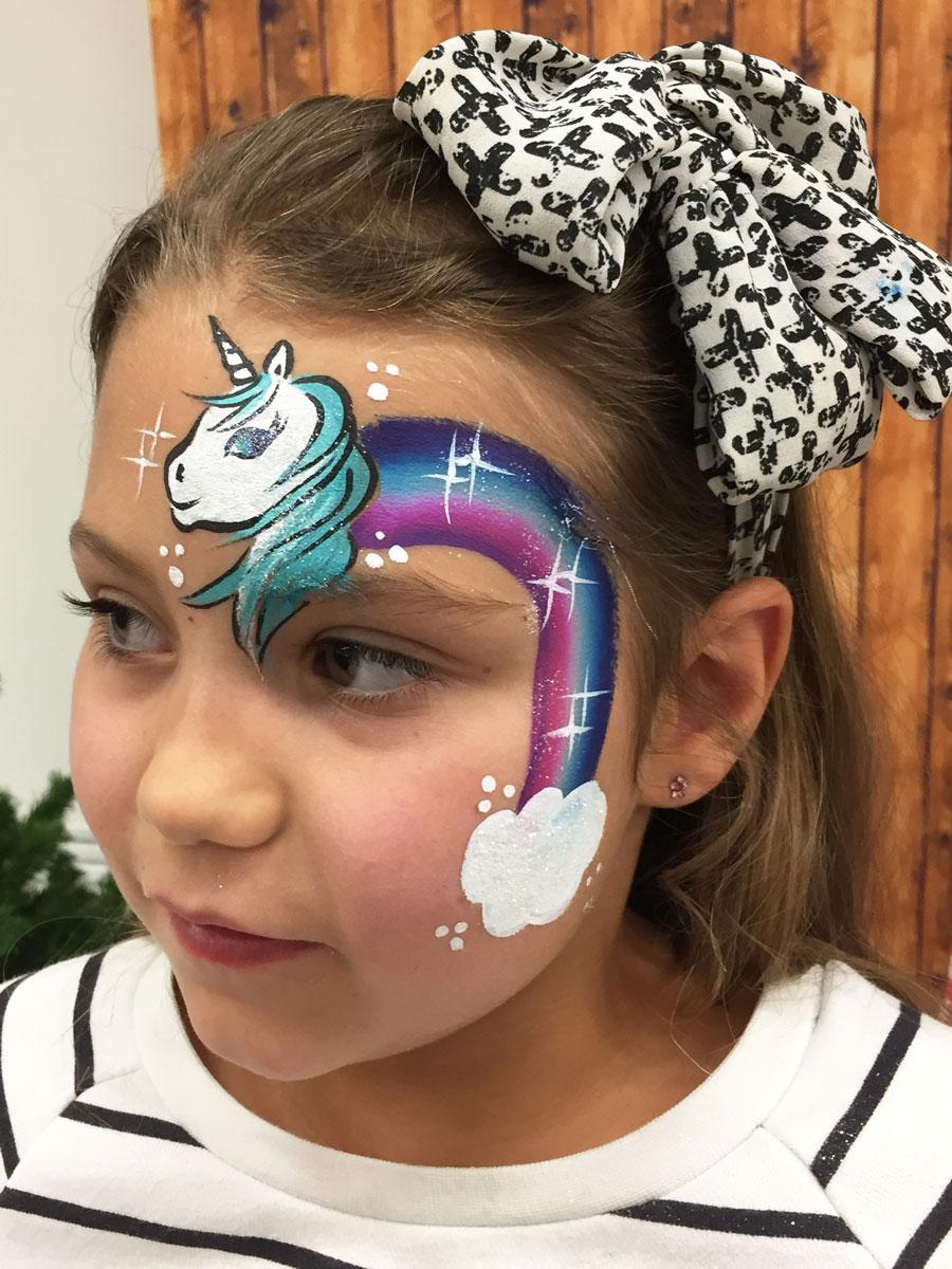 Maquillage fille professionnel licorne