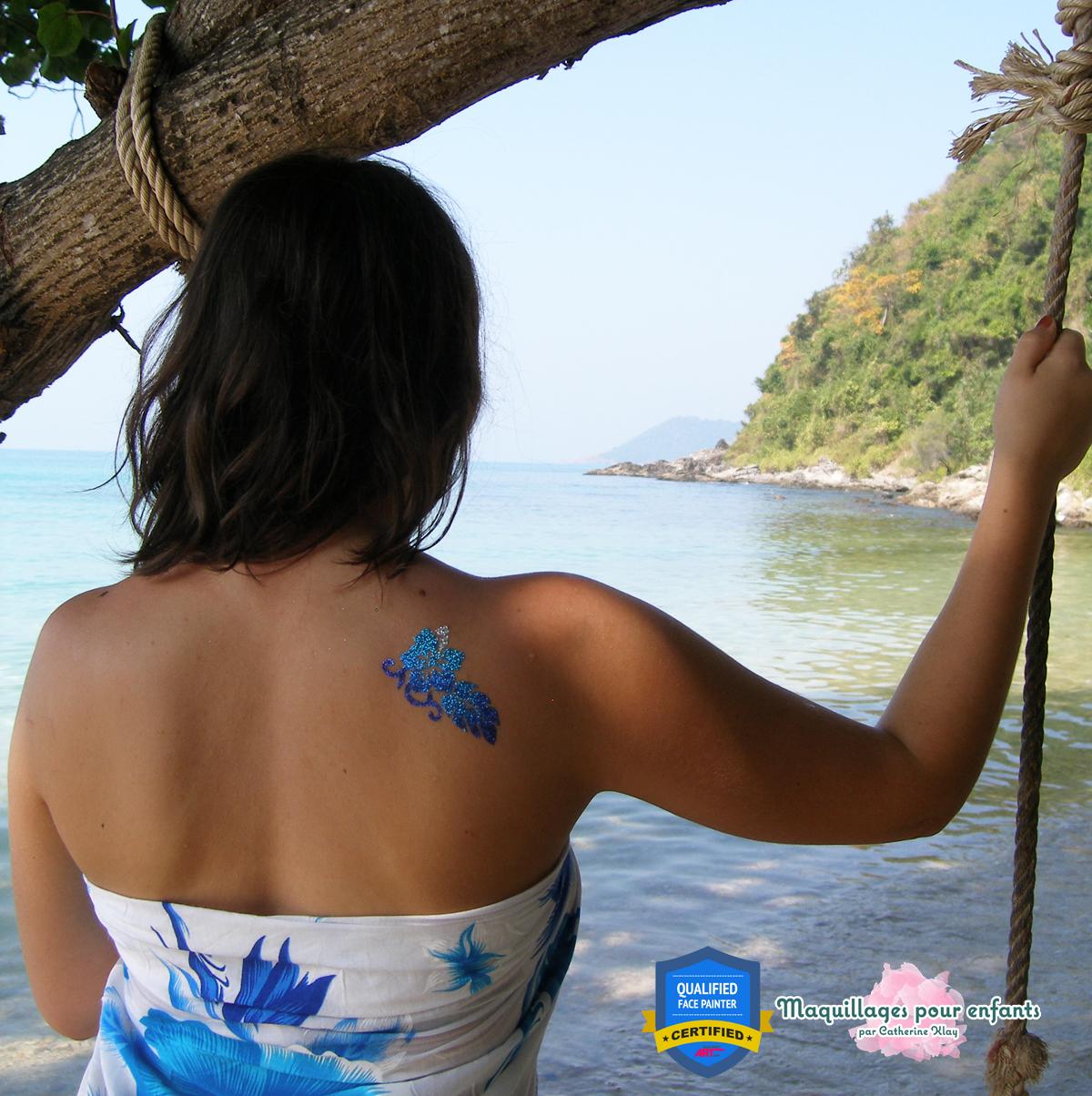 tatouage temporaire éphémère personnalisé pour enfants