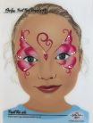 Maquillage papillon enfant one stroke