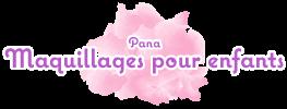 Maquillages pour enfants par Pana Debétaz Logo