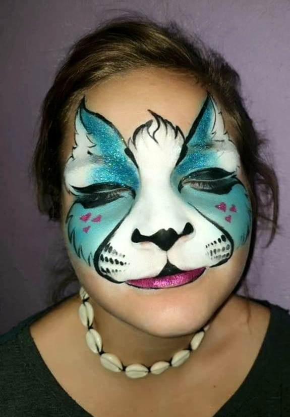 Maquillage fille professionnel chat