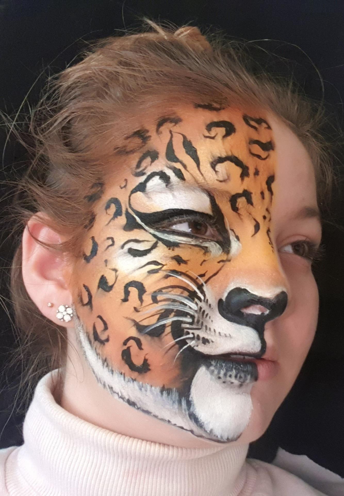 Maquillage fille professionnel léopard