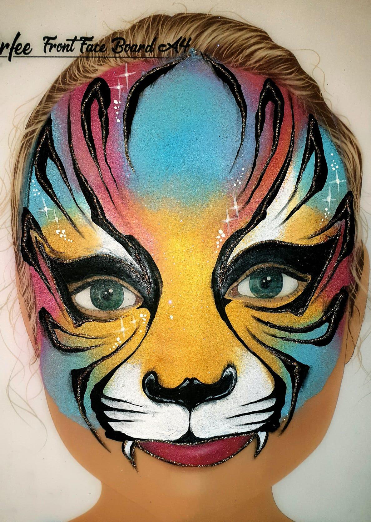 Maquillage fille professionnel tigre